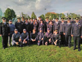 Gasilke in gasilci na 17. kongresu GZ Slovenije