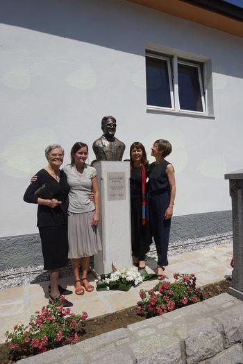 Otvoritev spomenika Vinka Kobala