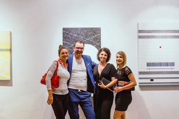 Simon Vovk razstavlja v galeriji Herman Pečarič
