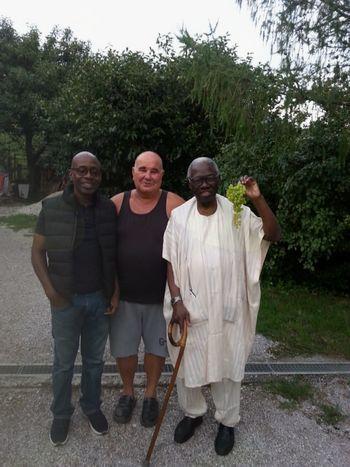 Nigerijci na obisku v Vrtovinu