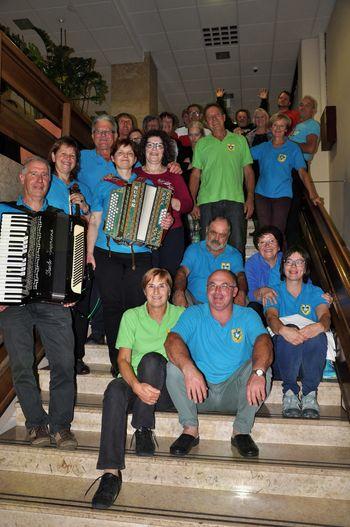 Intenzivne vaje Folklornega društva Vipava