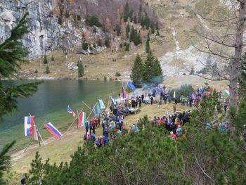 Ajdovski planinci na proslavi