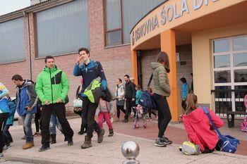 Orientacijska sprint tekma v Vipavi