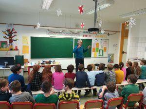 Budanjski šolarji na srečanju s preteklostjo