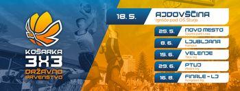 Državno prvenstvo v košarki 3x3