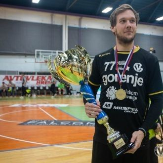 Andraž Kete z ekipo Gorenja postal pokalni prvak