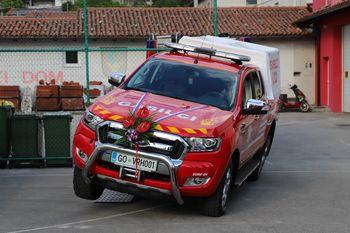 Svečan prevzem novega gasilskega vozila GVGP-1