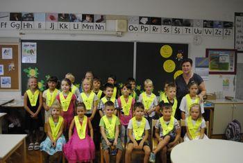 Sprejem prvošolcev v Vipavi