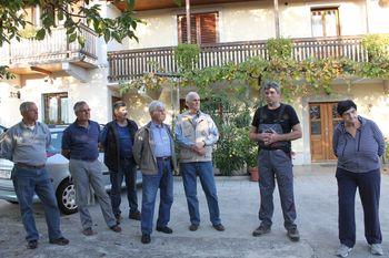Strokovna ekskurzija kamnoseške skupine Manče