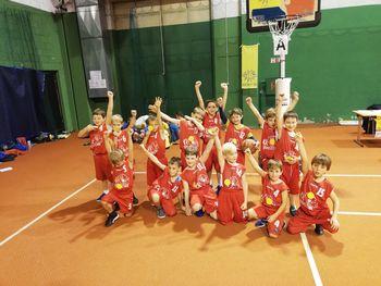 Pester košarkaški december za najmlajše košarkarje