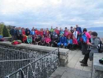 Ajdovski planinci na pohodu od Studene do Trsata