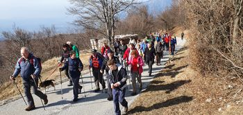 Žepovci po kulturnem prazniku na Sinji vrh