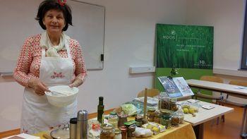 »Ekološki način kuhanja in peke« z Emilijo Pavlič
