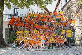 Dogajanje na župnijskem dvorišču popestrilo 125 otrok