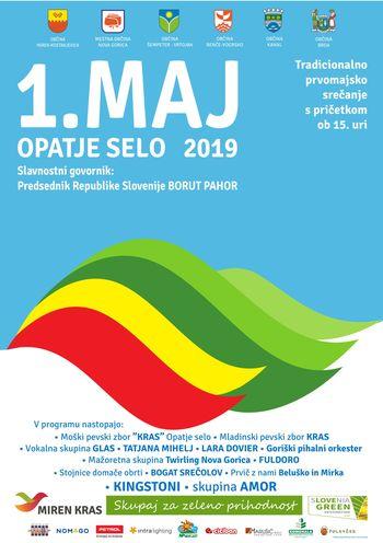 1. maj 2019 Opatje selo:  BREZPLAČEN AVTOBUSNI PREVOZ