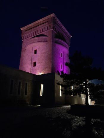 Slovenija se je obarvala vijoličasto!