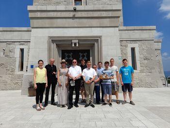 Obisk mariborskega nadškofa msgr. Alojzija Cvikla na Cerju