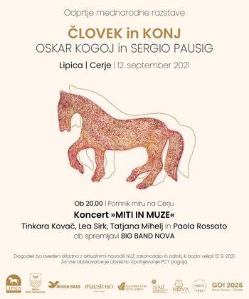 12.9.2021 Človek in konj; Lipica-Cerje: 2 lokaciji, eno sporočilo!