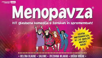 MENOPAVZA, glasbena komedija