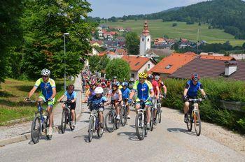 Nove kolesarske poti po občini Grosuplje