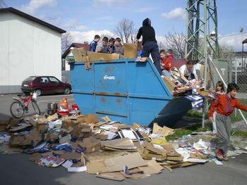 Eko delavnice in zbiranje papirja ob občinskem prazniku