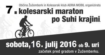 7. kolesarski maraton po Suhi krajini