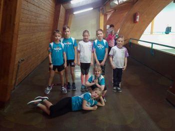 Tekma mladih atletov v Postojni