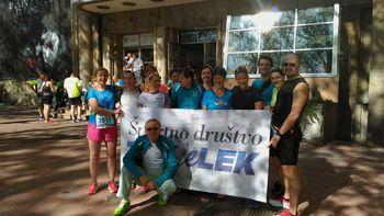 Tekači ŠD Tek je lek na maratonu v Beogradu