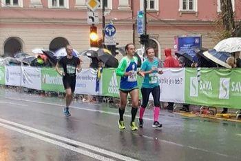 ŠD Tek je lek na Ljubljanskem maratonu