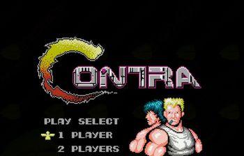 Tekmovanje v igri Contra