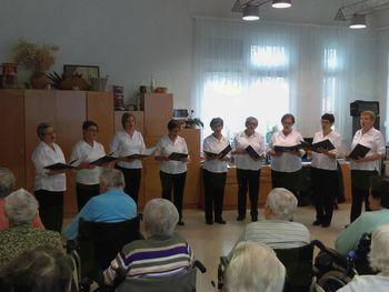 Nastop v Domu starejših v Lendavi