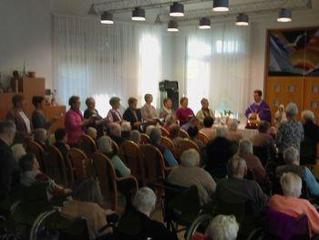Masa v domu starejših v Lendavi