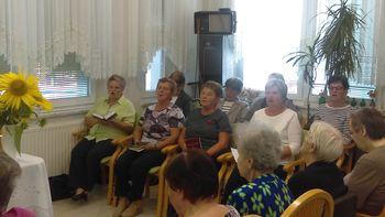 Ljudske pevke v domu stanovalcev v Lendavi