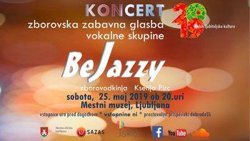 KONCERT zabavna glasba vokalne skupine BeJazzy