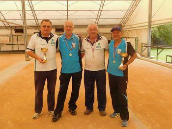 Osvojila naslov notranjskih prvakov med dvojicami