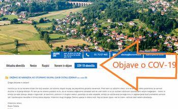 Aktualne informacije v zvezi s koronavirusom COV-19, delovanjem najbolj pomembnih javnih institucij ter storitvami v občini Borovnica