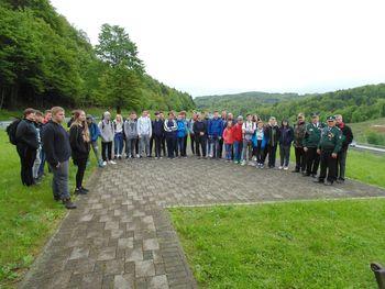 Obisk učencev osnovnih šol ter gimnazije in srednje šole in občin Kočevje in Kostel na Medvedjeku