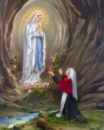 Lurška Mati Božja - svetovni dan bolnikov