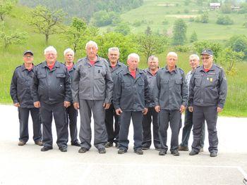 Starejši gasilci PGD Socka na pokalnem tekmovanju
