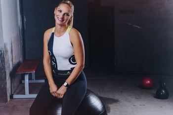 Športna Sara Padarič in društvo Postani.fit