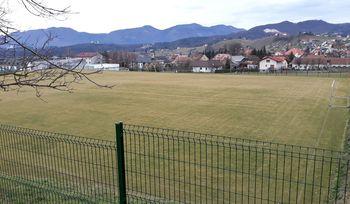 Dela na nogometnem igrišču v Oplotnici