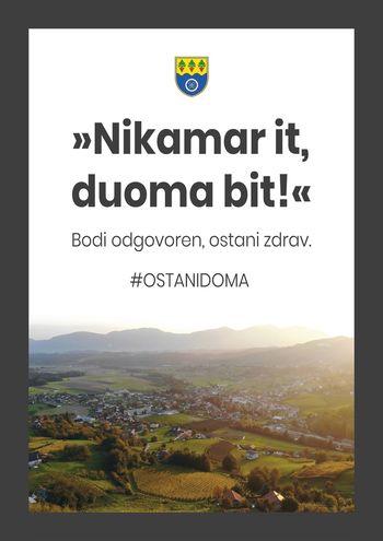 #OstaniDoma