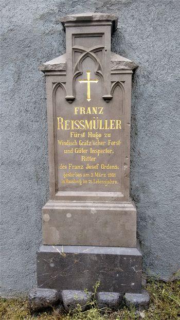 Franz Reissmüller in praznovanje cesarjevega jubileja 1888. v Logatcu