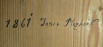Drobtinice iz župnijske kronike v Čepovanu o tesarskem in kleparskem mojstru Janezu Plečniku iz Hotedršice