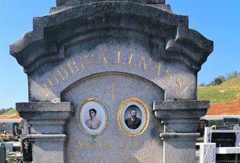 Vodnikovi nagrobni spomeniki na Logaškem
