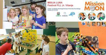 Misija LUNA, Festival FLL Jr. Vitanje