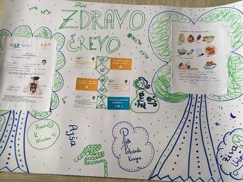Izvedene aktivnosti svetovnega dneva zdravja z učenci Druge osnovne šole Slovenj Gradec