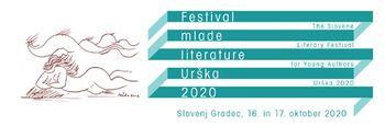Festival mlade literature Urška 2020, osrednja zaključna prireditev, izbor Uršljana za leto 2020
