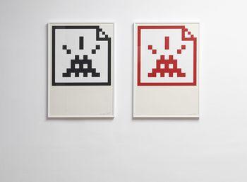 Invader: Grafike na papirju