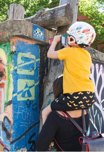 Invader's Street Art  Tour